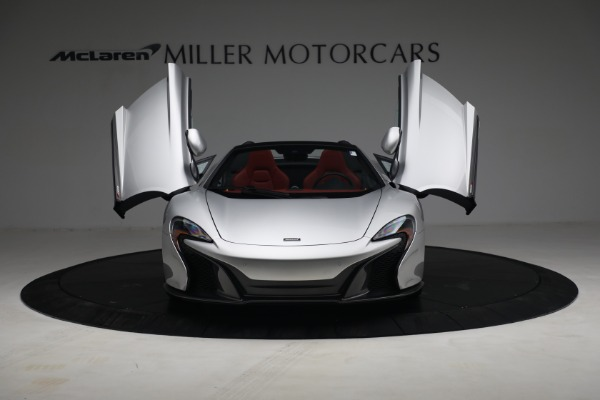 Used 2015 McLaren 650S Spider for sale $179,990 at Alfa Romeo of Greenwich in Greenwich CT 06830 12