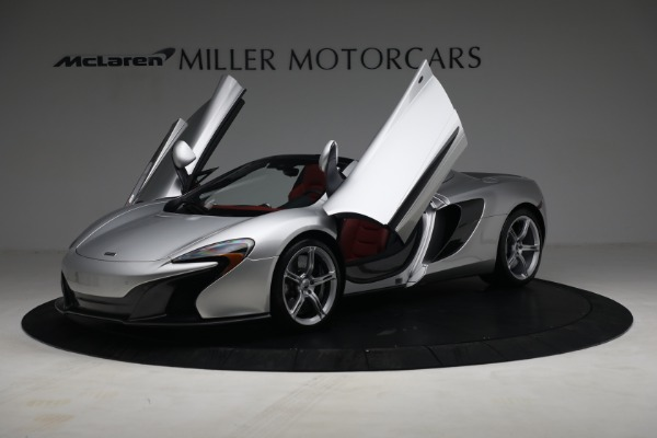 Used 2015 McLaren 650S Spider for sale $179,990 at Alfa Romeo of Greenwich in Greenwich CT 06830 13