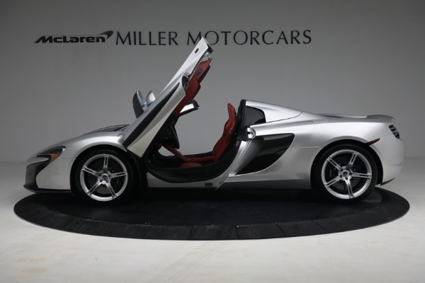 Used 2015 McLaren 650S Spider for sale $179,990 at Alfa Romeo of Greenwich in Greenwich CT 06830 14