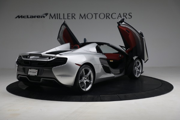 Used 2015 McLaren 650S Spider for sale $179,990 at Alfa Romeo of Greenwich in Greenwich CT 06830 17