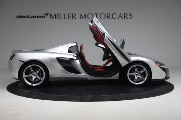 Used 2015 McLaren 650S Spider for sale $179,990 at Alfa Romeo of Greenwich in Greenwich CT 06830 18