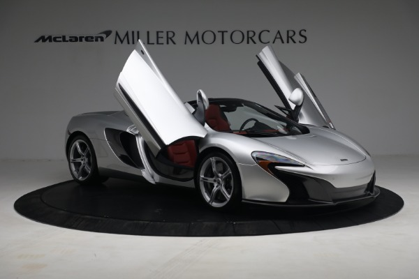 Used 2015 McLaren 650S Spider for sale $179,990 at Alfa Romeo of Greenwich in Greenwich CT 06830 19