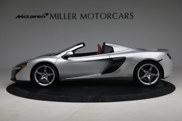 Used 2015 McLaren 650S Spider for sale $179,990 at Alfa Romeo of Greenwich in Greenwich CT 06830 2