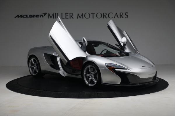 Used 2015 McLaren 650S Spider for sale $179,990 at Alfa Romeo of Greenwich in Greenwich CT 06830 20