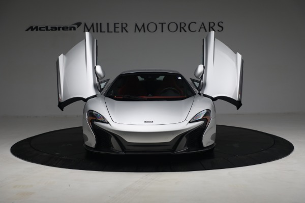 Used 2015 McLaren 650S Spider for sale $179,990 at Alfa Romeo of Greenwich in Greenwich CT 06830 21