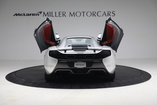 Used 2015 McLaren 650S Spider for sale $179,990 at Alfa Romeo of Greenwich in Greenwich CT 06830 24