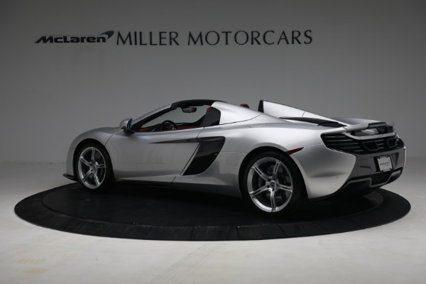 Used 2015 McLaren 650S Spider for sale $179,990 at Alfa Romeo of Greenwich in Greenwich CT 06830 3