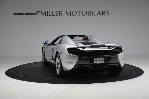 Used 2015 McLaren 650S Spider for sale $179,990 at Alfa Romeo of Greenwich in Greenwich CT 06830 4