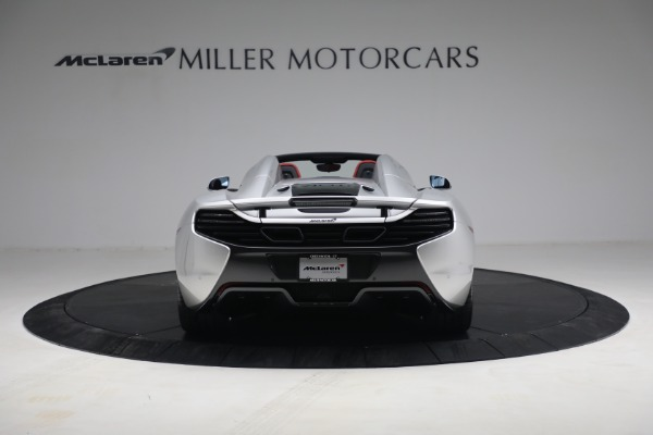 Used 2015 McLaren 650S Spider for sale $179,990 at Alfa Romeo of Greenwich in Greenwich CT 06830 5