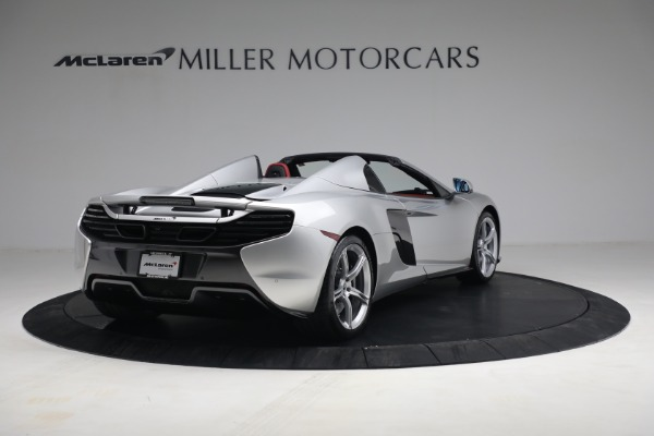 Used 2015 McLaren 650S Spider for sale $179,990 at Alfa Romeo of Greenwich in Greenwich CT 06830 6