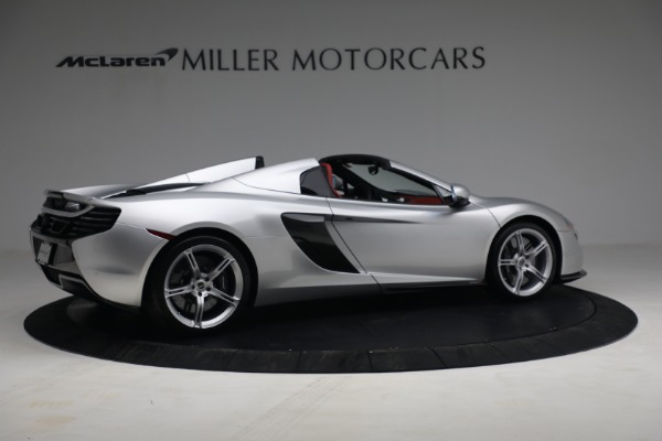 Used 2015 McLaren 650S Spider for sale $179,990 at Alfa Romeo of Greenwich in Greenwich CT 06830 7