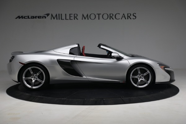 Used 2015 McLaren 650S Spider for sale $179,990 at Alfa Romeo of Greenwich in Greenwich CT 06830 8