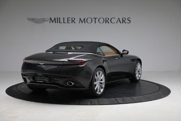 Used 2019 Aston Martin DB11 Volante for sale $212,990 at Alfa Romeo of Greenwich in Greenwich CT 06830 16