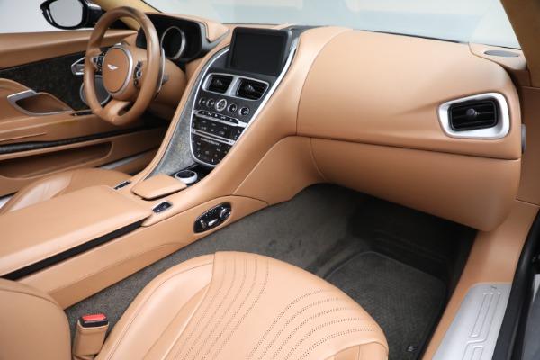 Used 2019 Aston Martin DB11 Volante for sale $212,990 at Alfa Romeo of Greenwich in Greenwich CT 06830 24