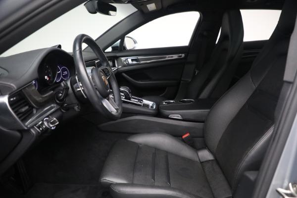 Used 2018 Porsche Panamera 4 Sport Turismo for sale $97,900 at Alfa Romeo of Greenwich in Greenwich CT 06830 18