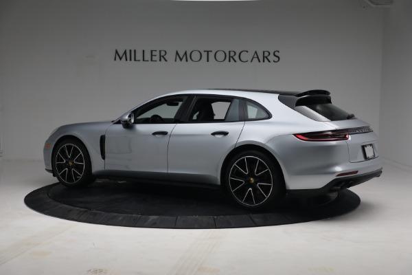 Used 2018 Porsche Panamera 4 Sport Turismo for sale $97,900 at Alfa Romeo of Greenwich in Greenwich CT 06830 4