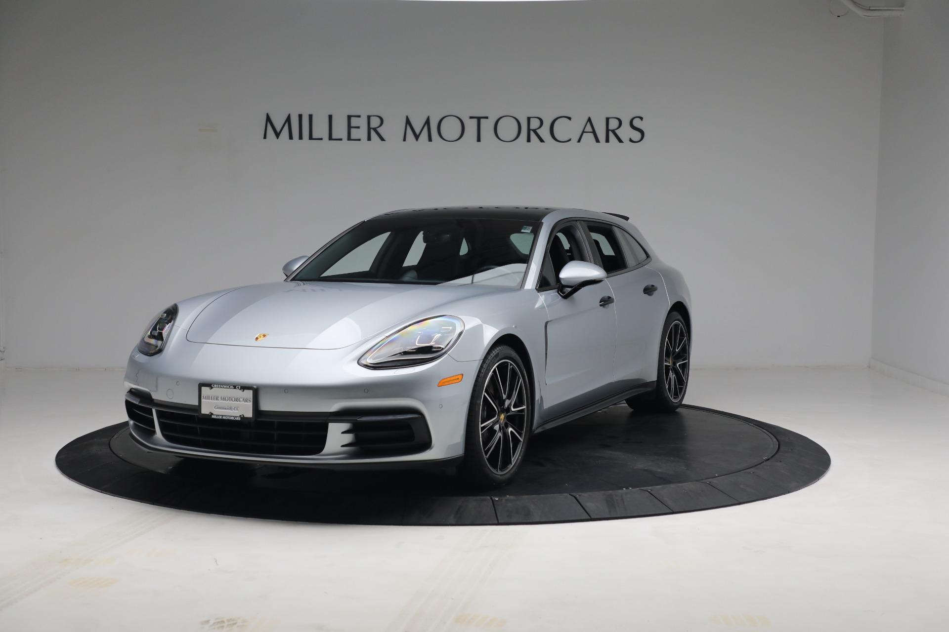 Used 2018 Porsche Panamera 4 Sport Turismo for sale $97,900 at Alfa Romeo of Greenwich in Greenwich CT 06830 1