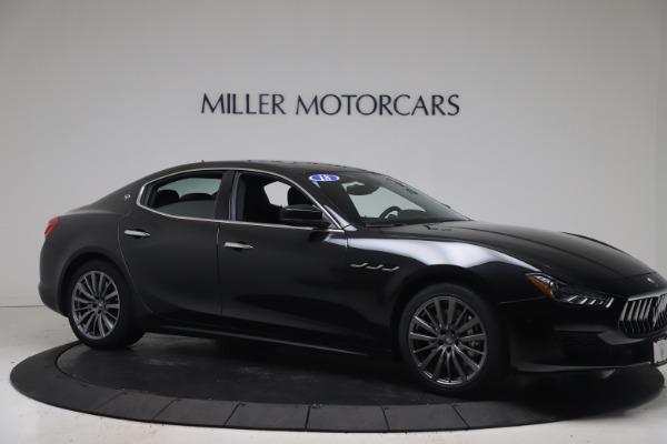 Used 2018 Maserati Ghibli SQ4 for sale $54,900 at Alfa Romeo of Greenwich in Greenwich CT 06830 10