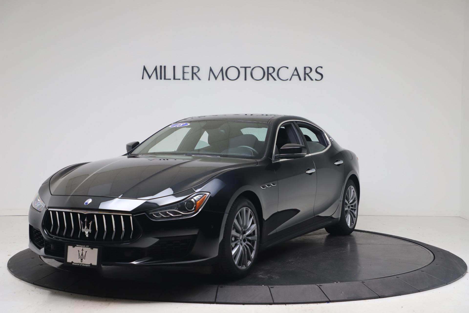 Used 2018 Maserati Ghibli SQ4 for sale $54,900 at Alfa Romeo of Greenwich in Greenwich CT 06830 1