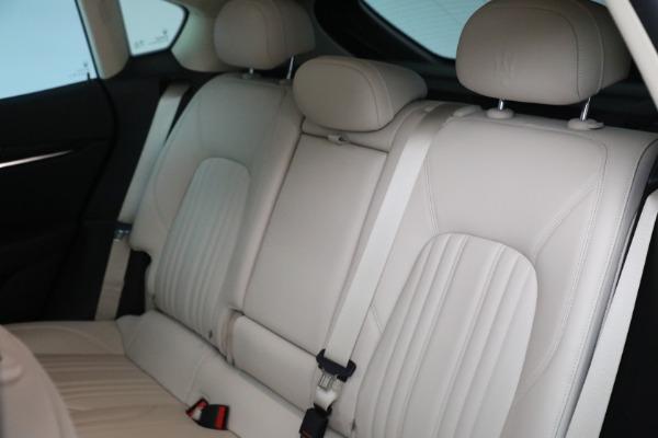Used 2018 Maserati Levante for sale $57,900 at Alfa Romeo of Greenwich in Greenwich CT 06830 18