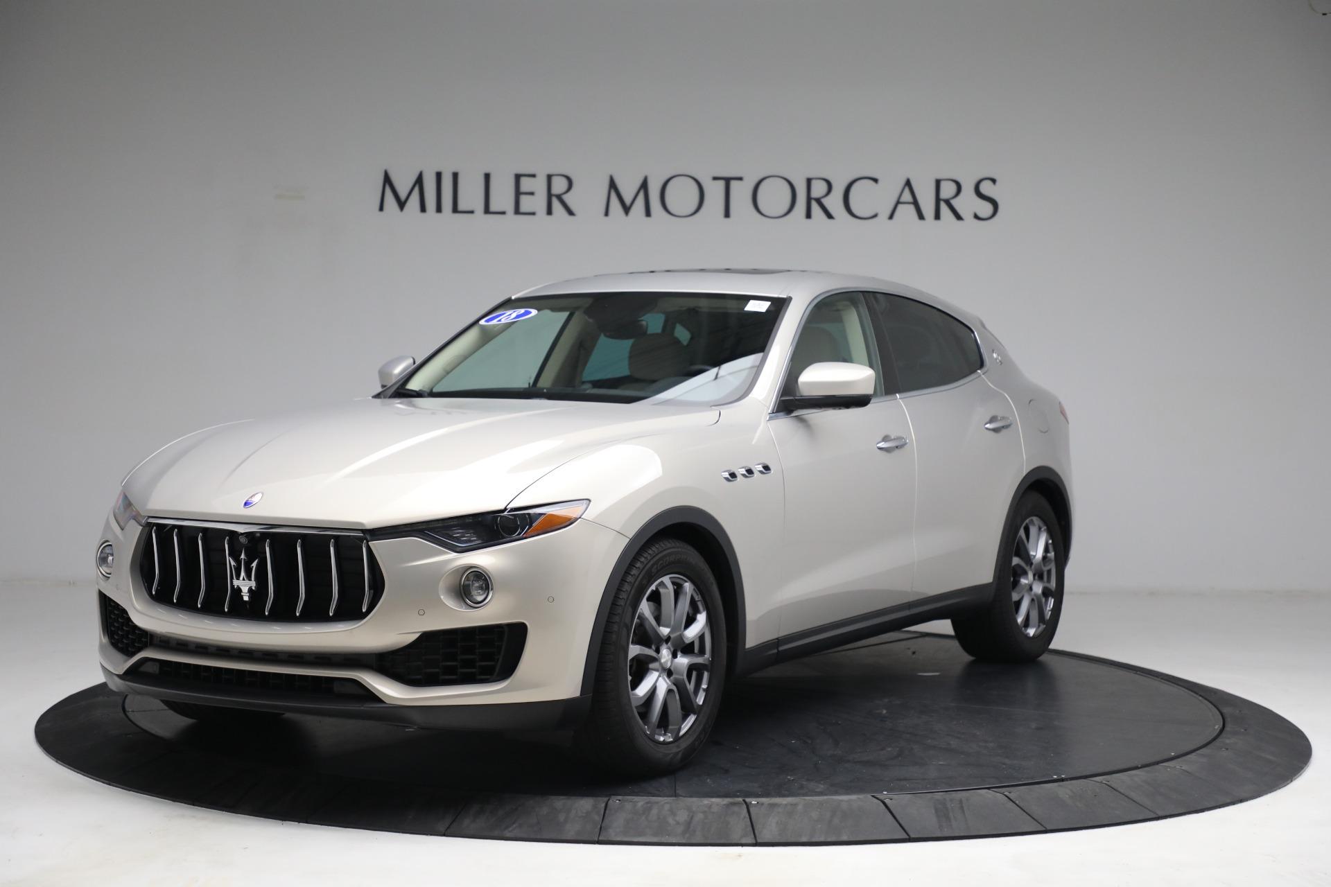 Used 2018 Maserati Levante for sale $57,900 at Alfa Romeo of Greenwich in Greenwich CT 06830 1