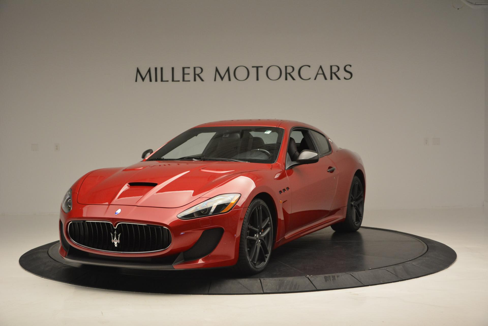 Used 2014 Maserati GranTurismo MC for sale Sold at Alfa Romeo of Greenwich in Greenwich CT 06830 1