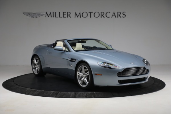 Used 2009 Aston Martin V8 Vantage Roadster for sale Call for price at Alfa Romeo of Greenwich in Greenwich CT 06830 10