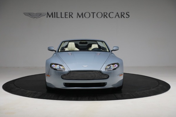 Used 2009 Aston Martin V8 Vantage Roadster for sale Call for price at Alfa Romeo of Greenwich in Greenwich CT 06830 11
