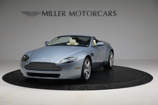 Used 2009 Aston Martin V8 Vantage Roadster for sale Call for price at Alfa Romeo of Greenwich in Greenwich CT 06830 12