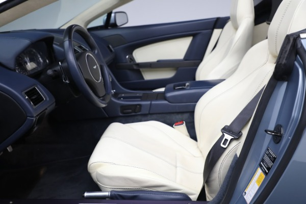 Used 2009 Aston Martin V8 Vantage Roadster for sale Call for price at Alfa Romeo of Greenwich in Greenwich CT 06830 14