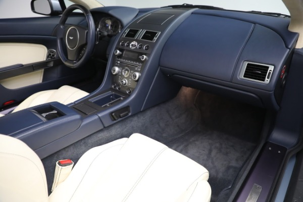 Used 2009 Aston Martin V8 Vantage Roadster for sale Call for price at Alfa Romeo of Greenwich in Greenwich CT 06830 18
