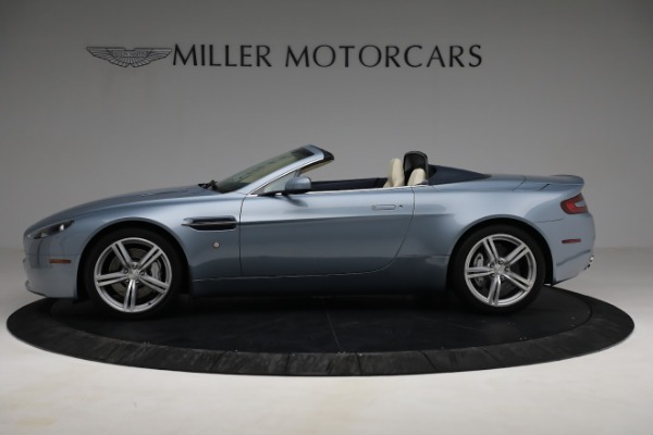 Used 2009 Aston Martin V8 Vantage Roadster for sale Call for price at Alfa Romeo of Greenwich in Greenwich CT 06830 2