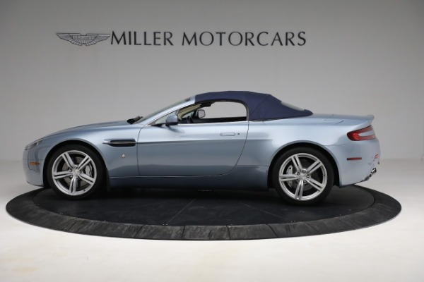 Used 2009 Aston Martin V8 Vantage Roadster for sale Call for price at Alfa Romeo of Greenwich in Greenwich CT 06830 22