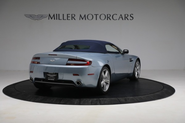 Used 2009 Aston Martin V8 Vantage Roadster for sale Call for price at Alfa Romeo of Greenwich in Greenwich CT 06830 24