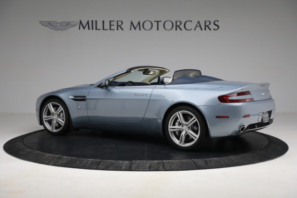 Used 2009 Aston Martin V8 Vantage Roadster for sale Call for price at Alfa Romeo of Greenwich in Greenwich CT 06830 3
