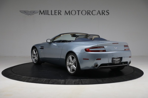 Used 2009 Aston Martin V8 Vantage Roadster for sale Call for price at Alfa Romeo of Greenwich in Greenwich CT 06830 4