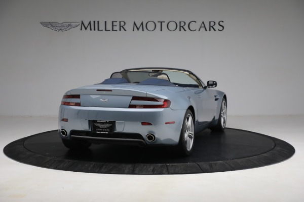 Used 2009 Aston Martin V8 Vantage Roadster for sale Call for price at Alfa Romeo of Greenwich in Greenwich CT 06830 6