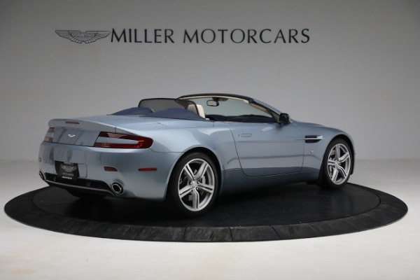 Used 2009 Aston Martin V8 Vantage Roadster for sale Call for price at Alfa Romeo of Greenwich in Greenwich CT 06830 7