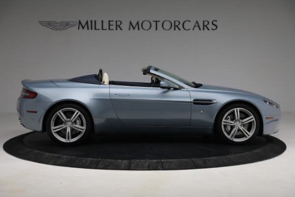 Used 2009 Aston Martin V8 Vantage Roadster for sale Call for price at Alfa Romeo of Greenwich in Greenwich CT 06830 8