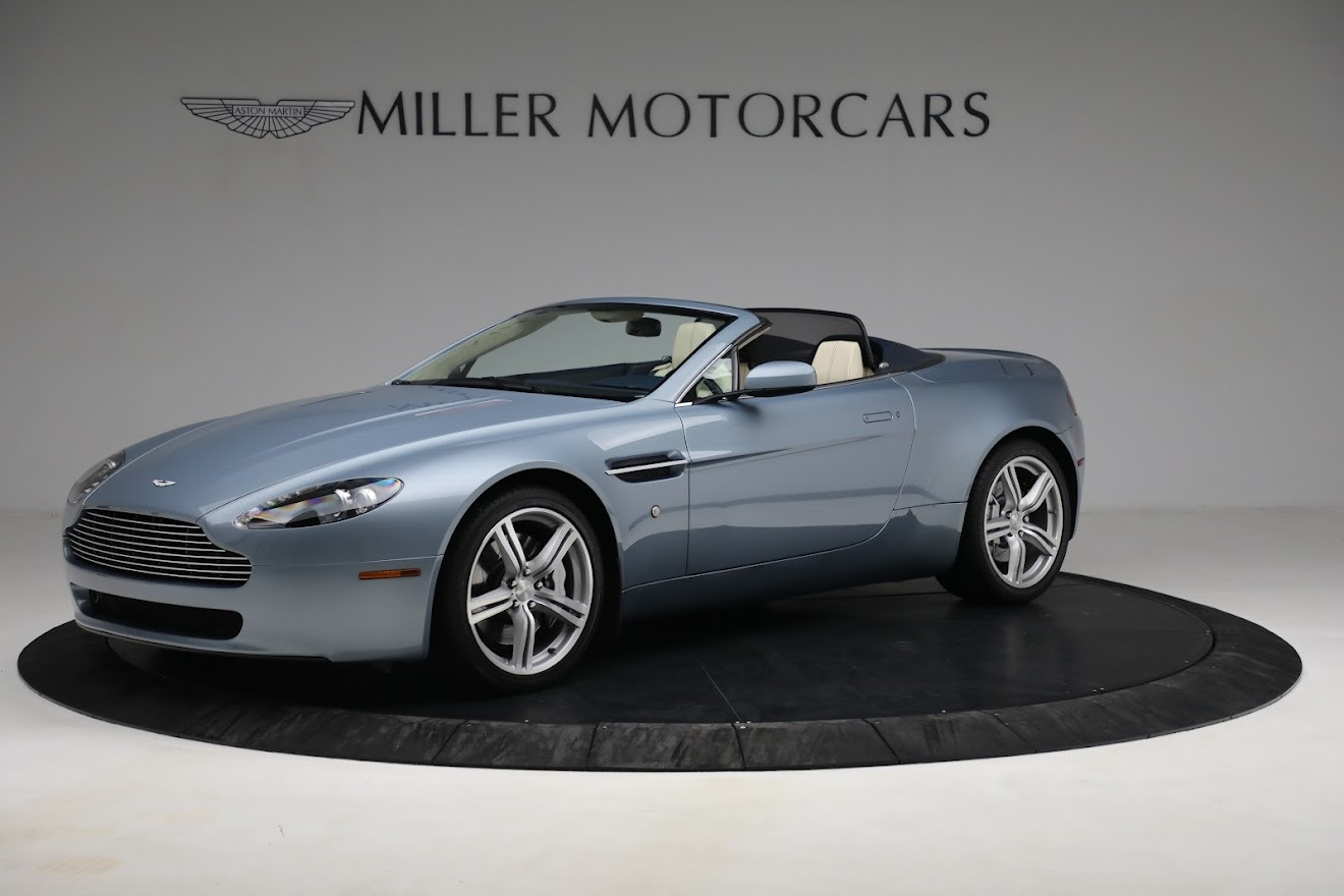 Used 2009 Aston Martin V8 Vantage Roadster for sale Call for price at Alfa Romeo of Greenwich in Greenwich CT 06830 1
