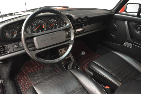 Used 1988 Porsche 911 Carrera for sale Sold at Alfa Romeo of Greenwich in Greenwich CT 06830 13