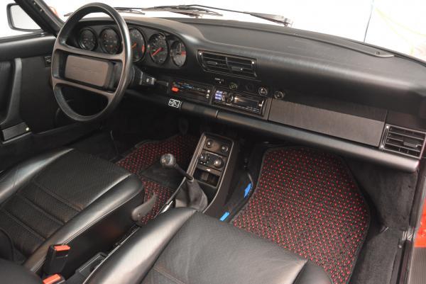 Used 1988 Porsche 911 Carrera for sale Sold at Alfa Romeo of Greenwich in Greenwich CT 06830 18