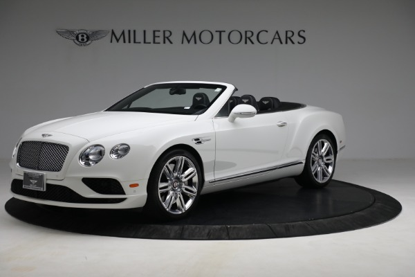 Used 2016 Bentley Continental GT V8 for sale Sold at Alfa Romeo of Greenwich in Greenwich CT 06830 1