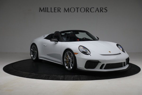 Used 2019 Porsche 911 Speedster for sale $395,900 at Alfa Romeo of Greenwich in Greenwich CT 06830 11
