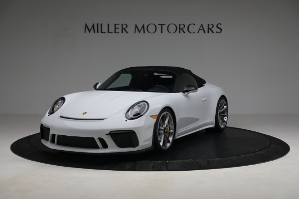 Used 2019 Porsche 911 Speedster for sale $395,900 at Alfa Romeo of Greenwich in Greenwich CT 06830 13