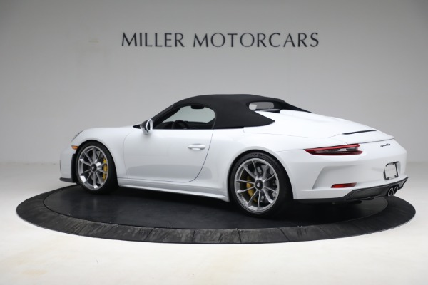 Used 2019 Porsche 911 Speedster for sale $395,900 at Alfa Romeo of Greenwich in Greenwich CT 06830 15
