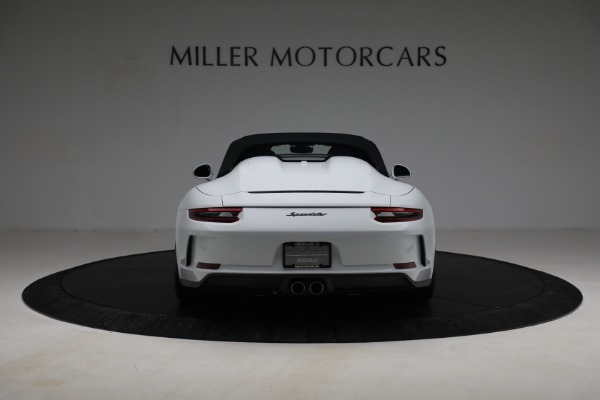 Used 2019 Porsche 911 Speedster for sale $395,900 at Alfa Romeo of Greenwich in Greenwich CT 06830 16