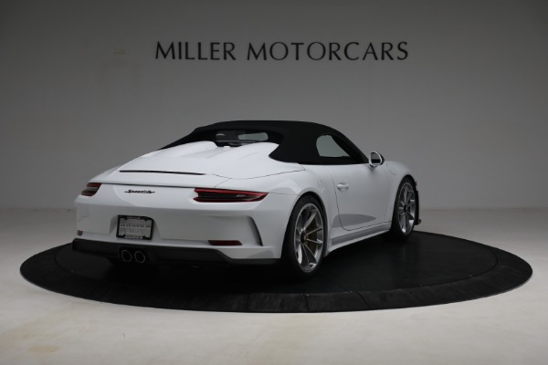 Used 2019 Porsche 911 Speedster for sale $395,900 at Alfa Romeo of Greenwich in Greenwich CT 06830 17