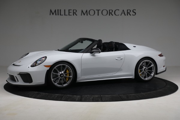 Used 2019 Porsche 911 Speedster for sale $395,900 at Alfa Romeo of Greenwich in Greenwich CT 06830 2