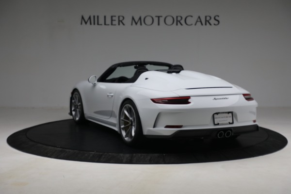 Used 2019 Porsche 911 Speedster for sale $395,900 at Alfa Romeo of Greenwich in Greenwich CT 06830 5